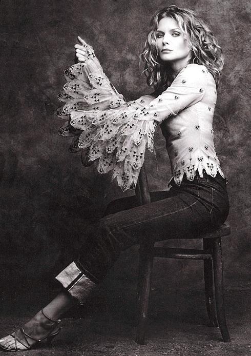 Мишель Пфайффер в 1999 году. Фото