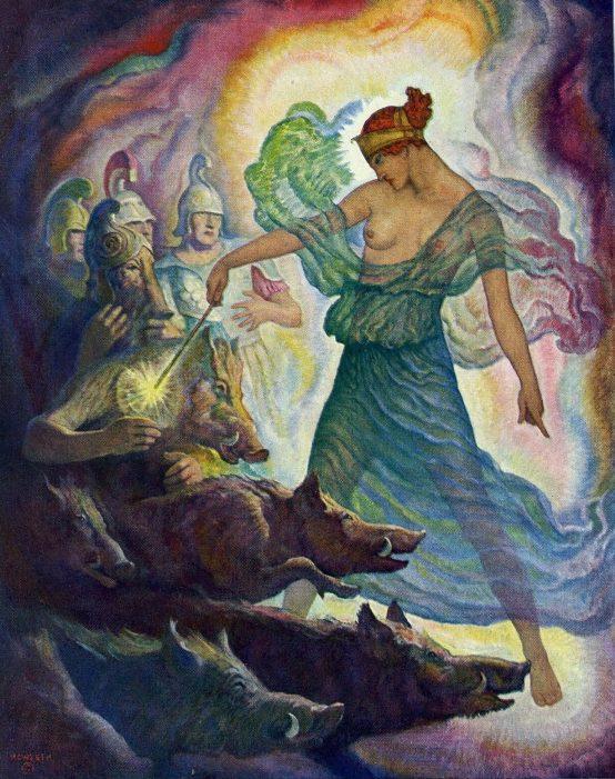 N. C. Wyeth - Цирцея