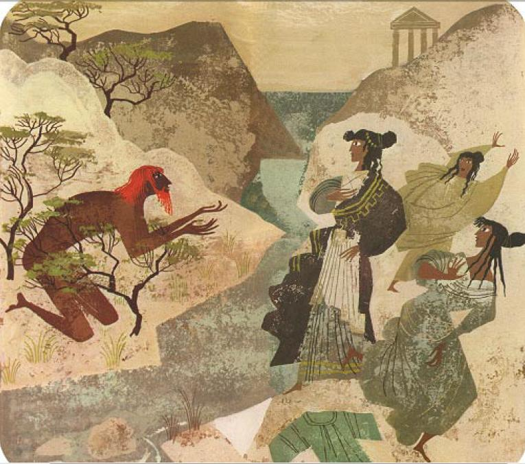 Alice & Martin Provensen - Одиссей и Навсикая