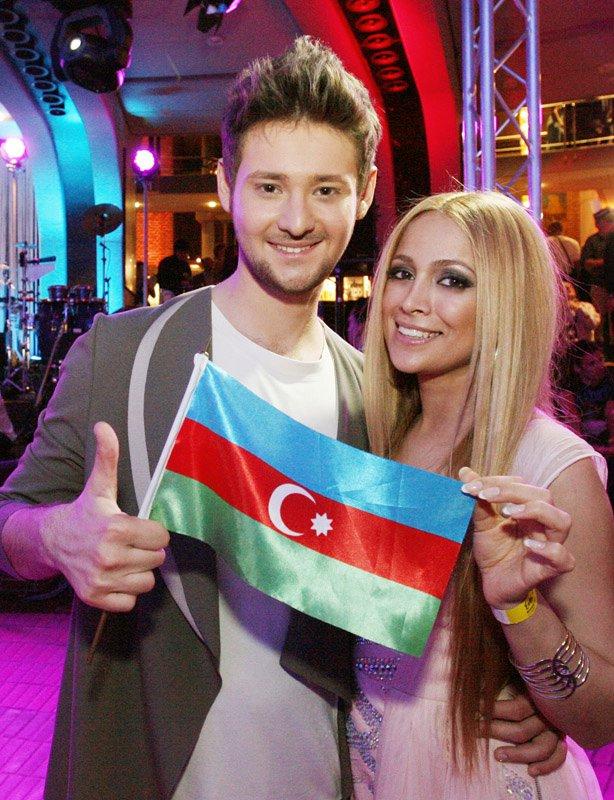 Нигяр Джамал и Эльдар Касимов. Фото