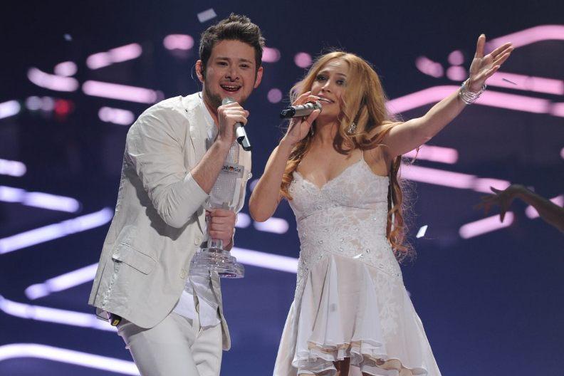 Нигяр Джамал и Эльдар Касимов на Евровидении. Фото