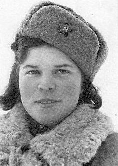 Снайпер Александра Виноградова (Михайлова). Фотография