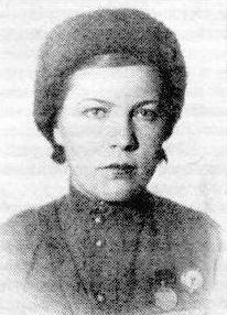 Снайпер Клавдия Дунаева. Фотография