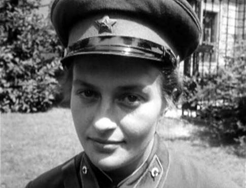 Снайпер Людмила Павличенко. Фотография