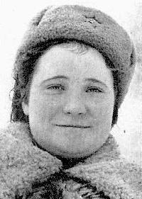Снайпер Клавдия Маринкина (Федосеева). Фотография
