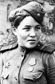 Снайпер Мария Кошкина (Ткалич). Фотография
