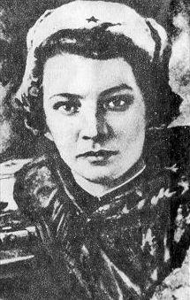 Снайпер Наталья Ковшова. Фотография