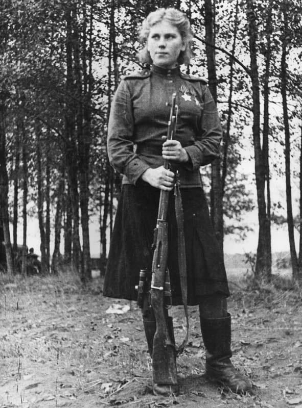 Снайпер Роза Шанина. Фотография