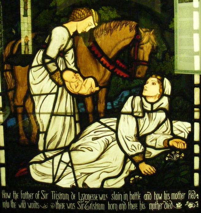 William Morris. Рождение Тристана
