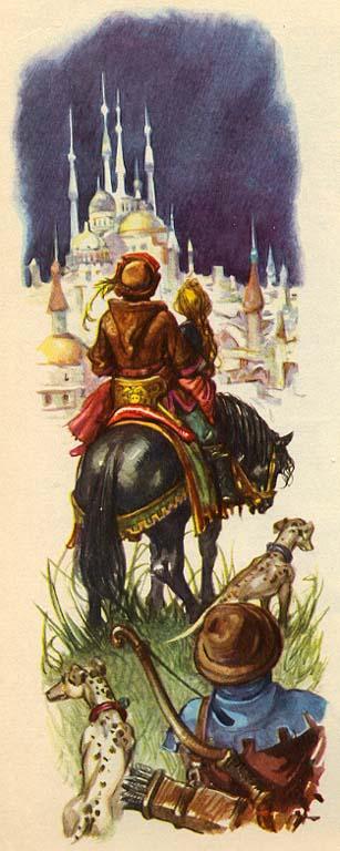 Ганс Христиан Андерсен - Дикие лебеди (иллюстрация Либико Марайа)