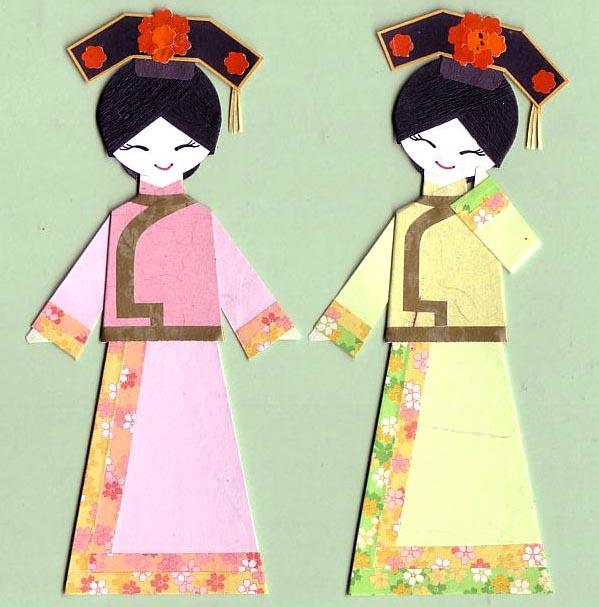 Костюмы китайских девушек