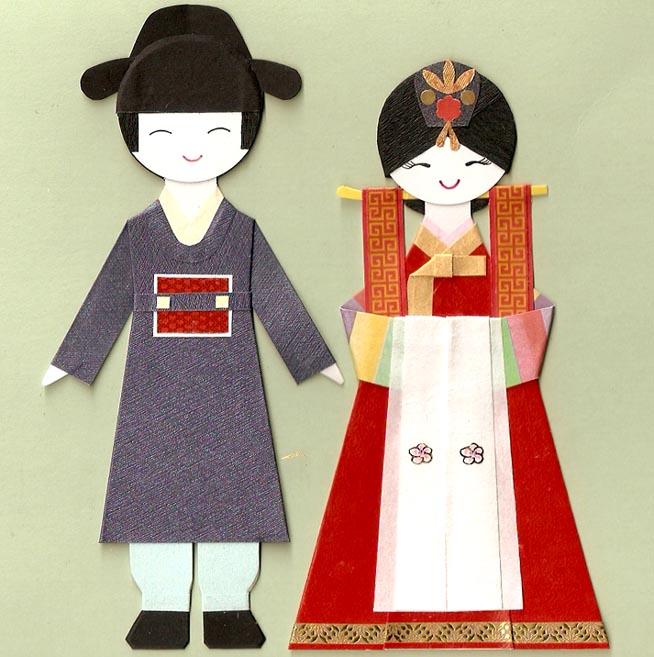 Корейские жених и невеста
