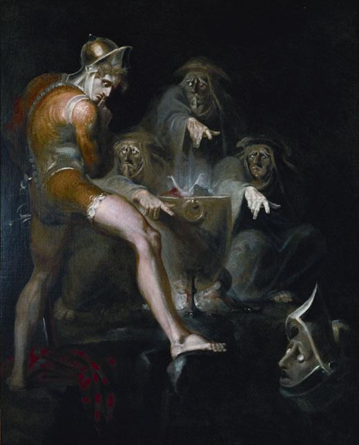 Иоганн Генрих Фюссли - Макбет и ведьмы