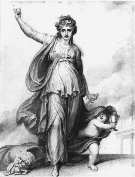 Сара Сиддонс в роли Леди Макбет (1785)