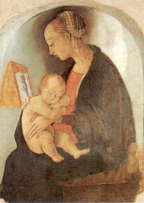 Рафаэль Санти - Мадонна с младенцем