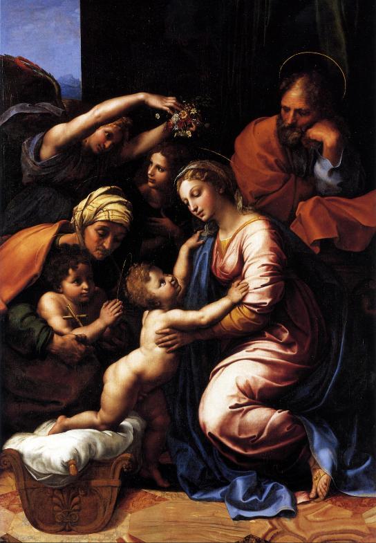 Рафаэль Санти - Святое семейство Франциска I