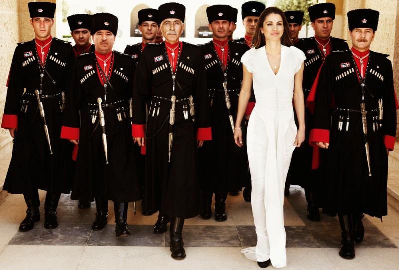королева Иордании Рания Аль-Абдулла. Фото