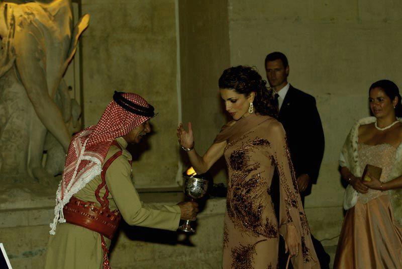 королева Рания Аль-Абдулла. Фото