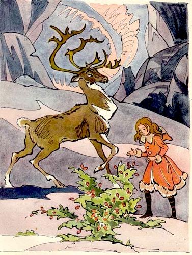 Ганс Христиан Андерсен - Снежная королева (иллюстрация Валерия Алфеевского)