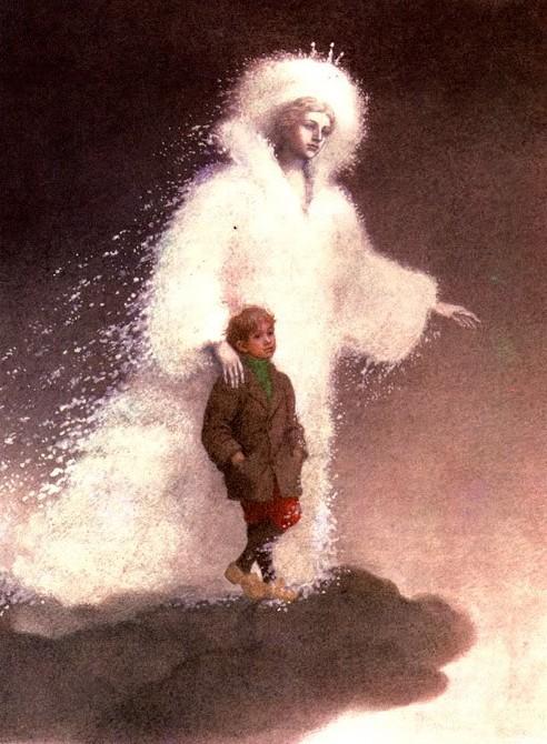 Ганс Христиан Андерсен - Снежная королева (иллюстрация Анастасии Архиповой)