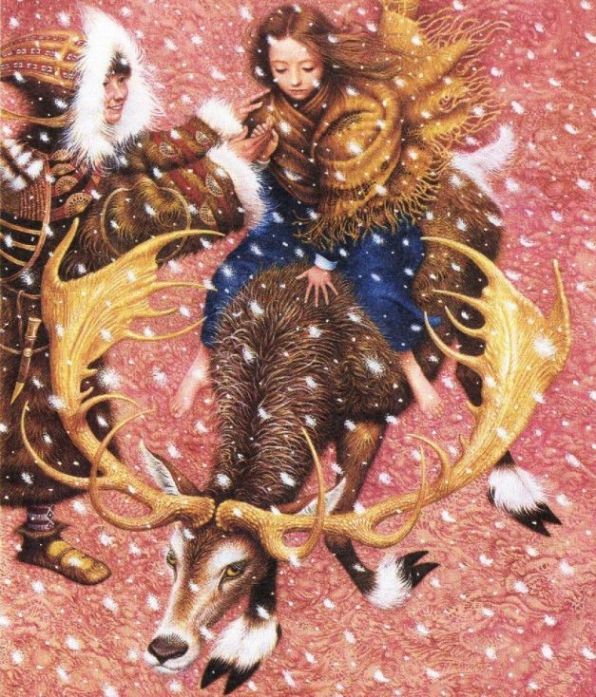 Ганс Христиан Андерсен - Снежная королева (иллюстрация Владислава Ерко)