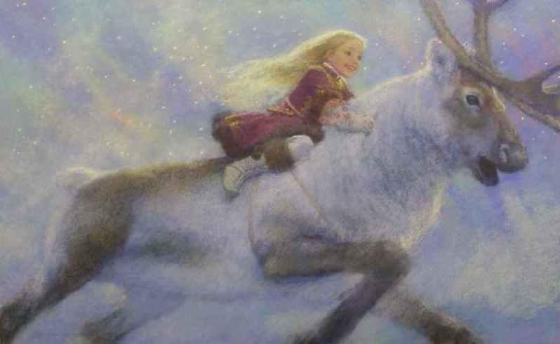 Ганс Христиан Андерсен - Снежная королева (иллюстрация Christian Birmingham)