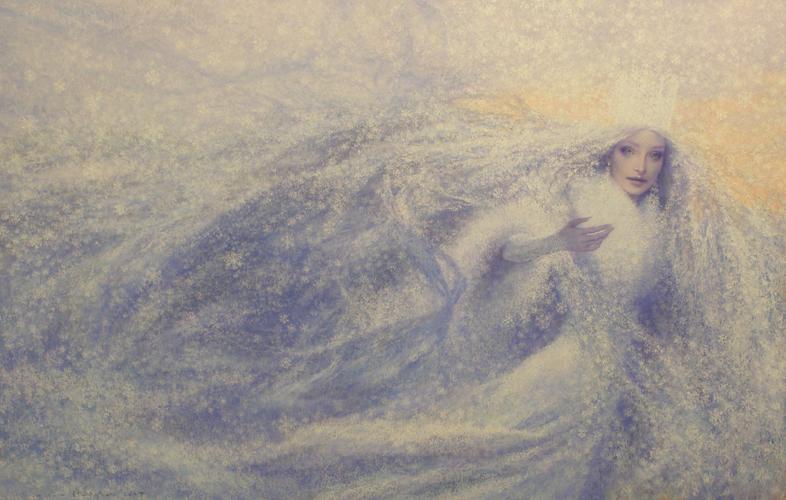 Ганс Христиан Андерсен - Снежная королева (иллюстрация - Christian Birmingham)