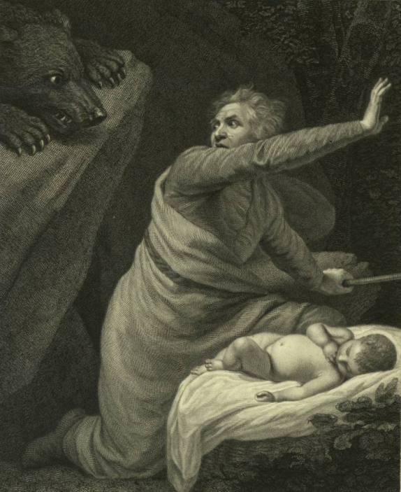 На Антигона нападает медведь (Шекспир - Зимняя сказка)