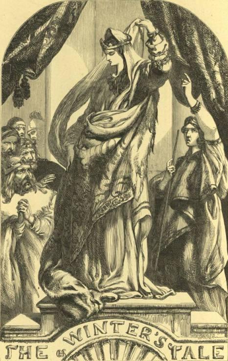 Burgess - Статуя Гермионы (Шекспир - Зимняя сказка)