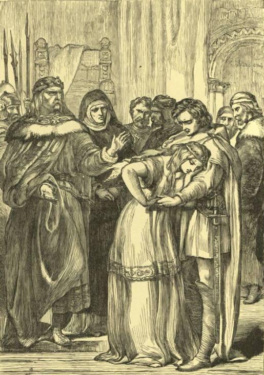 F. Wentworth - Флоризель и Утрата при дворе Леонта (Шекспир - Зимняя сказка)