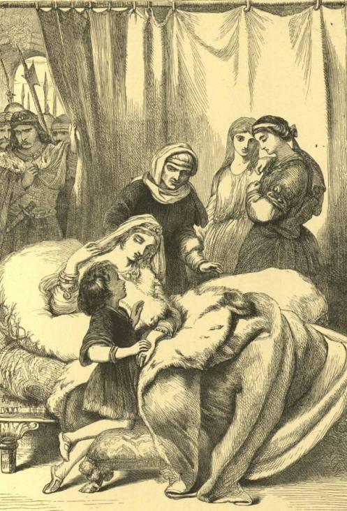 Pearson - Гермиона с сыном (Шекспир - Зимняя сказка)