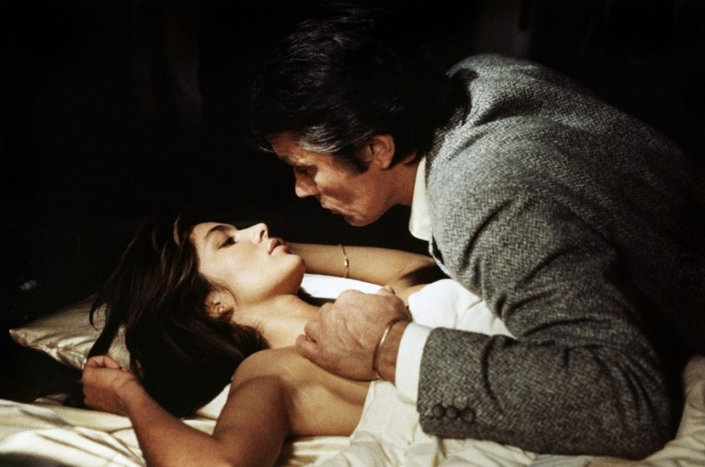 Анн Парийо и Ален Делон. Фото / Anne Parillaud and Alain Delon photo. За шкуру полицейского / Pour la peau d'un flic. 1981