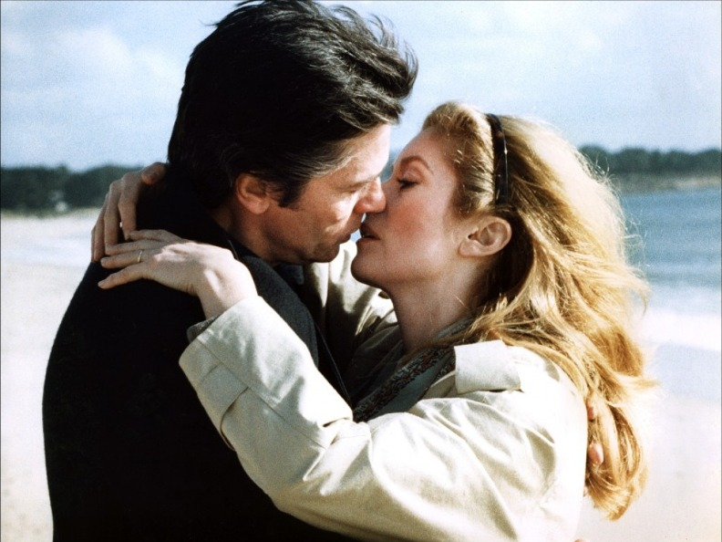 Катрин Денёв и Ален Делон. Фото / Catherine Deneuve and Alain Delon photo. Шок / Le Choc. 1982