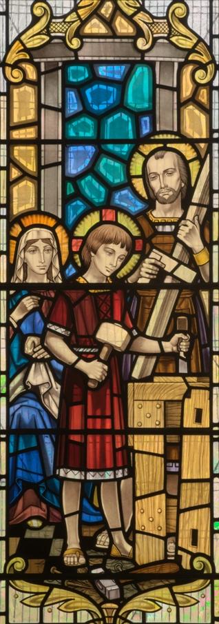 Святое семейство в мастерской Иосифа