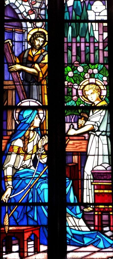 Иисус Христос в столярной мастерской святого Иосифа
