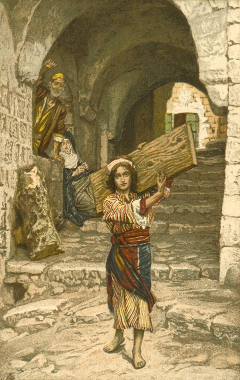 James Tissot - Юный Иисус Христос