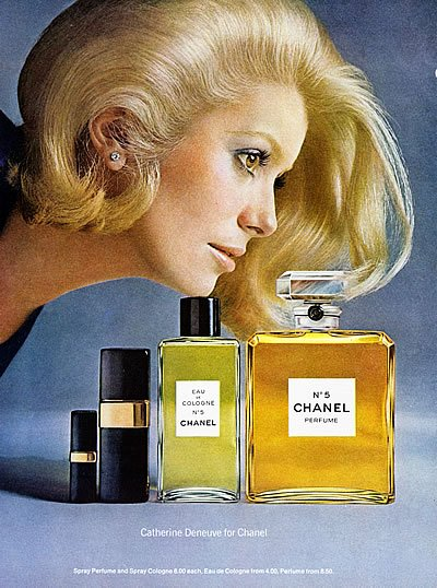 Catherine Deneuve Chanel photo