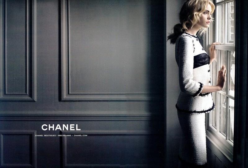 Хайди Монт / Heidi Mount. Шанель / Chanel