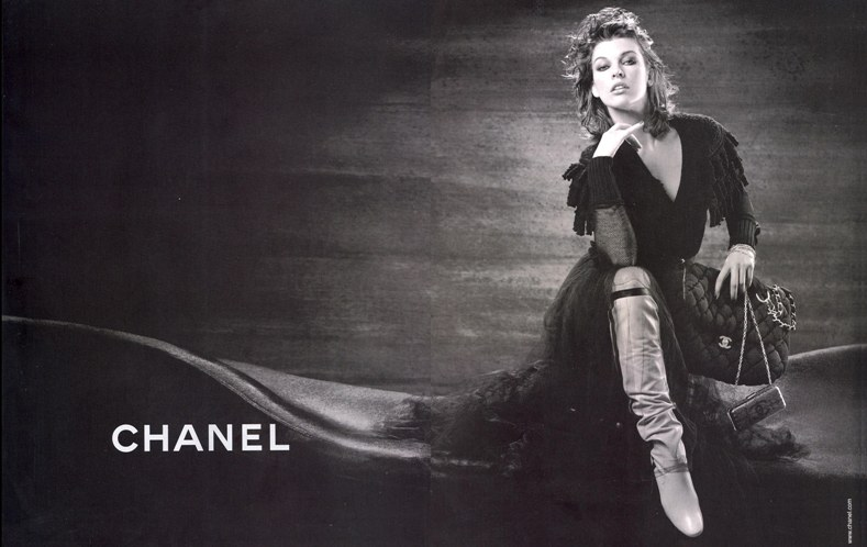 Милла Йовович / Milla Jovovich. Chanel