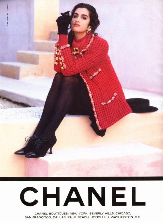 Ясмин Гаури / Yasmeen Ghauri. Chanel