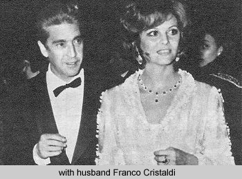 Клаудиа Кардинале и Франко Кристальди