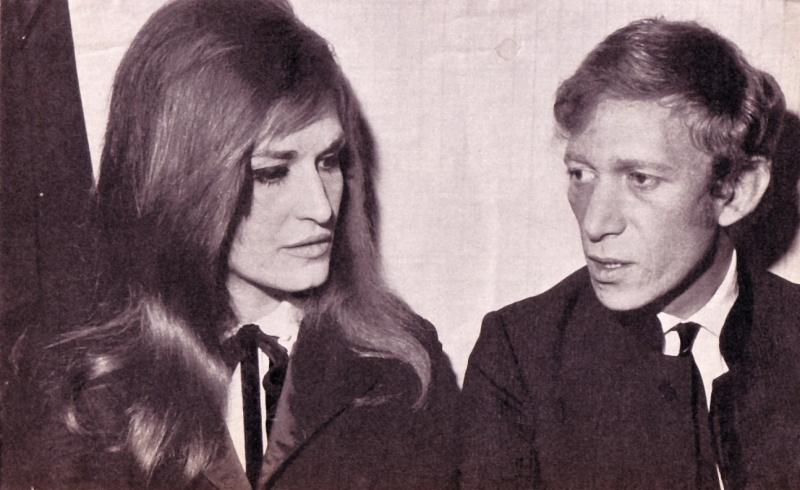 Далида и Люсьен Морисс. Фото