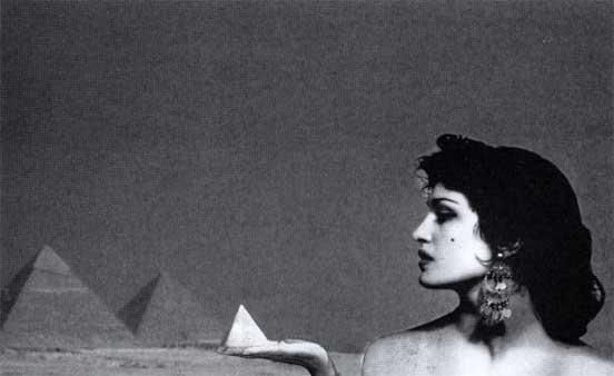 Далида, Каир, 1954 год. Фото