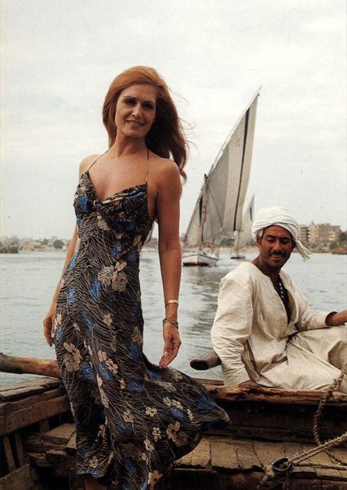 Далида. Египет, 1977 год