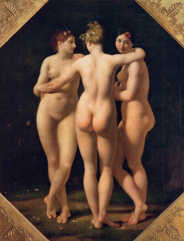 Jean-Baptiste Regnault. Три грации