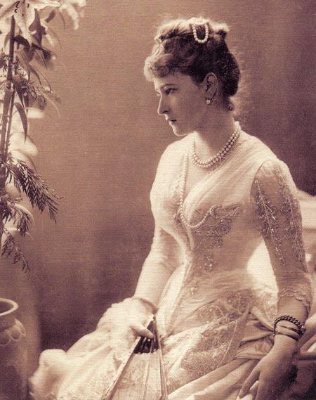 Елизавета Федоровна Романова. Фотография, 1887 год
