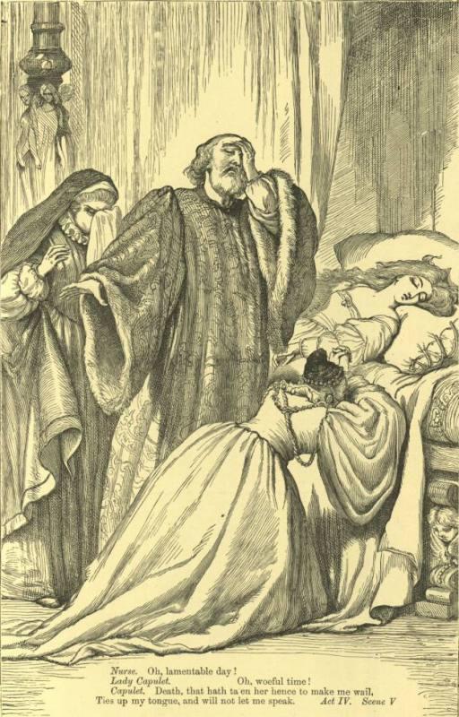 Мнимая смерть Джульетты
