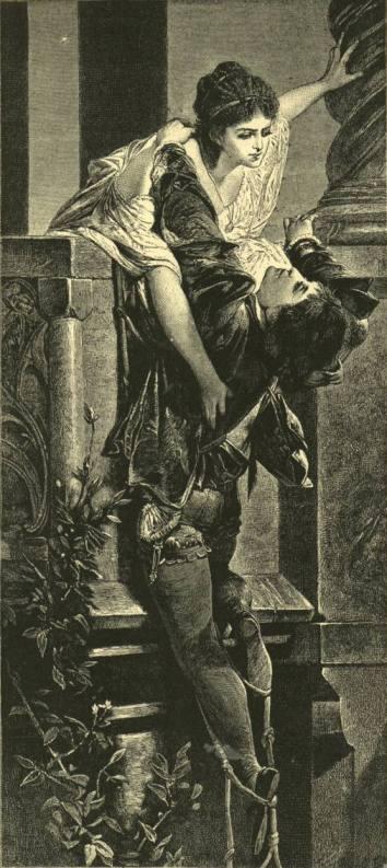 Шекспир - Ромео и Джульетта. Иллюстрация