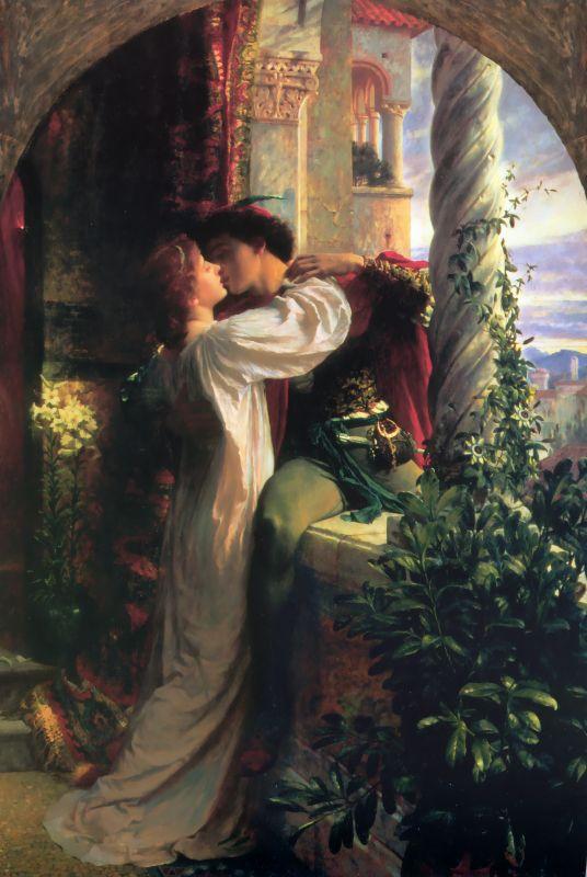 Frank Dicksee - Ромео и Джульетта