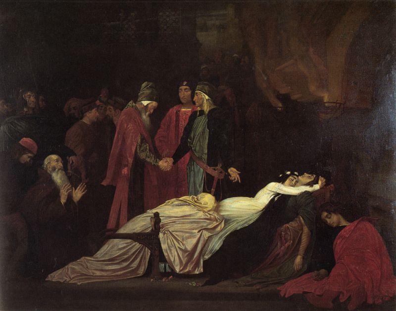 Frederick Leighton - Примирение Монтекки и Капулетти